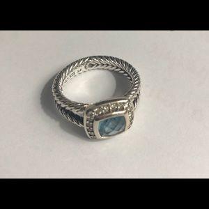 Blue Yurman petite Albion ring size 6